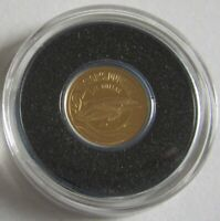 Neuseeland 1 Dollar 2016 Tiere Hector-Delfin Gold