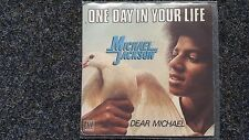 Michael Jackson - One day in your life 7'' Vinyl Single FRANCE