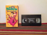 Dino's two tales / Les pirrafeu   Un amour de dino VHS FRENCH  QUEBEC DUB