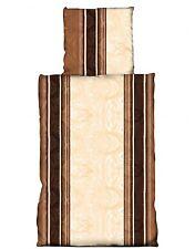 Lenzuola In Flanella marrone 135 x 200 cm 80 x 80 cm 100% Cotone