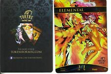 Elemental Token FOIL - Version 3   NM   altered Art Promo - Tokens for MTG