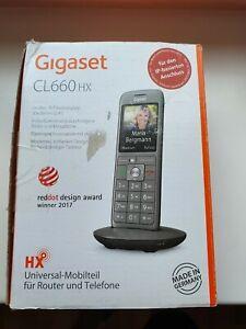 Gigaset Mobilteil CL660 HX Universalmobilteil Farbdisplay IP-Telefon DECT.
