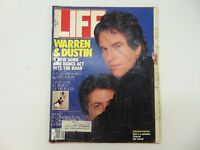 LIFE Magazine May 1987, Warren Beatty Dustin Hoffman Oliver North Breast Cancer