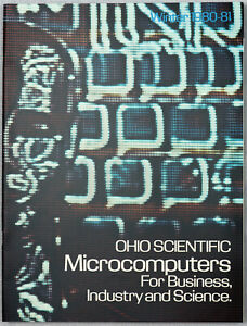 Ohio Scientific OSI Challenger Line Catalog from Winter 1980 - 1982, Full Color