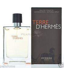 Terre D'hermes by Hermes for Men Eau De Toilette 3.4 / 3.3 OZ 100 ML Spray