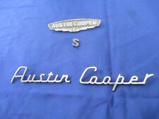 Austin Cooper S J Fray Badges