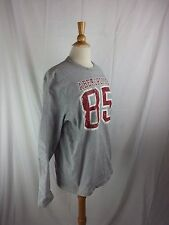 Abercrombie & Fitch Gray 85 Long Sleeve Shirt Thick L/S XL Cotton