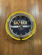Buffalo Sarres Clock