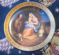 "Bradford Exchange Plate ""Rest on the Flight to Egypt"" Lmt. Edition Plate # 1399"
