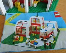 Vintage Lego hospital set. Pre-owned but good condition. No box