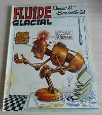 BD BANDE DESSINEE MENSUEL FLUIDE GLACIAL N° 63 EO SEPTEMBRE 1981