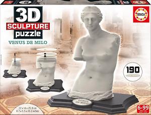 Educa 3D Sculpture Puzzle Venus De Milo 190 pc