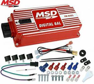 MSD 6425 6AL Ignition Box Digital 6AL with Rev Limiter multiple spark discharge