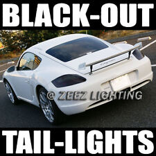 Black-Out Dark Smoked Taillight Tint Head Fog Tail Light Vinyl Tinted Film C95