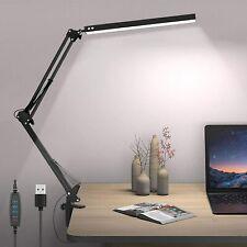 DESK LAMP LAMPADA DA SCRIVANIA CON STRUTTURA FLESSIBILE A LED 10W USB