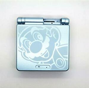 Nintendo GBA SP Game Boy Advance SP Mario Light Blue Replacement Housing Shell