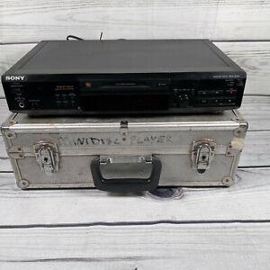 Sony MDS-JE520 Stereo Mini Disc Recorder MiniDisc Deck Black HiFi Seperate Japan