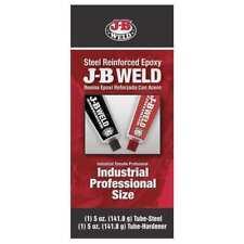 Epoxy Adhesive, Tube, 5 oz., Gray, 6 min. J-B WELD 8280