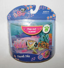Littlest Pet Shop pop out scene Sea Turtle #1836 MIP BRAND NEW
