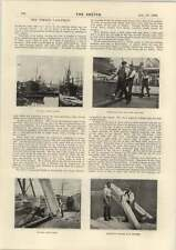 1898 Miss J Nesville Singing French Song Timber Tally Man Rotherhithe Docks