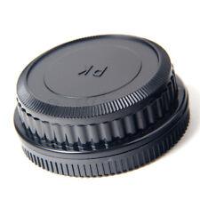 Camera Body + Rear Lens Cap for Pentax K mount PK K20D K10D K200D K100 DG