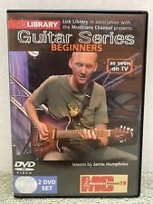 LICK LIBRARY Guitar Series BEGINNERS Jamie Humphries Learn to Play Lesson DVD