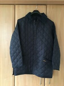 mens barbour quilted jacket medium