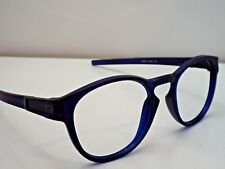 Authentic Oakley OO9265-14 Latch Matte Blue Sunglasses Round Frame $215