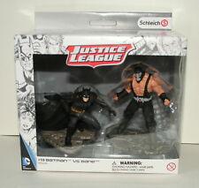 #13 Schleich Justice League Movie Scene Batman vs Bane Figurine New NOS Box 2015