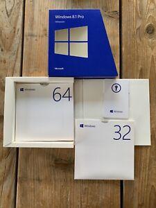 Microsoft Windows 8.1 Pro 32/64 Bit, Deutsch mit MwSt Rechnung