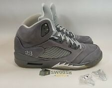 Nike Air Jordan V 5 Retro Sz 13 Wolf Grey White 2011 136027-005 Pre Owned Kaws