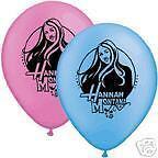 Hannah Montana Latex Printed Balloons Party Supplies