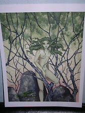 Amy Brown - Dryad - Out Of Print - Signed