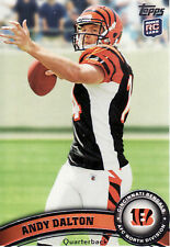 2011 Topps Andy Dalton #70 Football Card