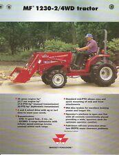Farm Tractor Brochure - Massey Ferguson - MF 1230 2/4WD - 1999 (F1855)
