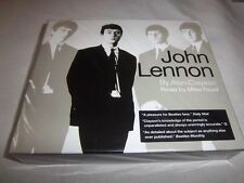 JOHN LENNON BY ALAN CLAYSON-MIKE READ-SANCTUARY AUDIO BOOK NEW SEALED 3CD