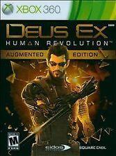 Deus Ex: Human Revolution -- Augmented Edition (Microsoft Xbox 360, 2011)