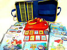 Story Reader Bundle with Case & Headphones & Lot of 9 Cartridges w/Books