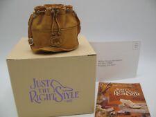 "Just The Right Style Raine Willittis Designs ""Raine"" Trinket Box Miniature Purse"