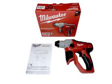 "New Milwaukee M12 2412-20 Lithium-Ion 12V Cordless 1/2"" Sds Plus Rotary Hammer"