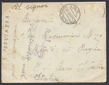 POSTA MILITARE 1940 Lettera PA da PM 13 (Maletti) a Ruvo di Puglia (EC)