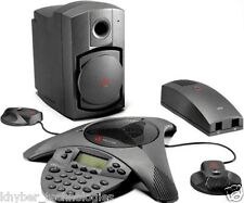 Polycom SoundStation VTX 1000 Conference Phone with Mic Pod and SubWoofer