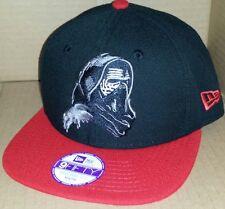 3c5315f050857 NWT NEW ERA Star Wars KYLO REN YOUTH black 9FIFTY SNAPBACK adjustable cap  hat