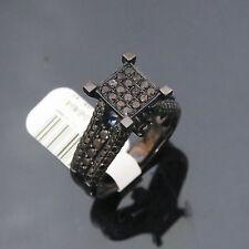 NYJEWEL JPM 10k Solid Gold Black Diamond Engagement Ring $1299
