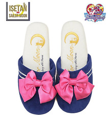 【Sailor Moon×ISETAN 25th 】Narue Velor slippers ribbon sailor moon KAWAII