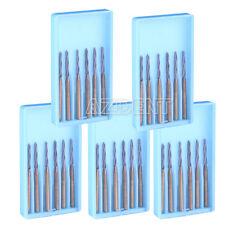 ITA 5X Endodontic Tungsten Dental Carbide Burs FG Endo-Z 25mm Titanium Coating