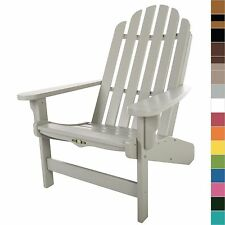 Pawleys Island Essential Adirondack Poly Lumber Durawood Chair Outdoor Furniture