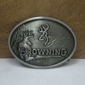 Vintage Oval Browning Belt Buckles Mens Western Cowboy Casual Belt Buckle