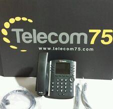 Lot of 5 Polycom VVX 400 Phones  Part# 2201-46104-001