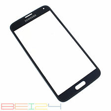 Für Samsung Galaxy S5 i9600 SM-G900F Glas Scheibe Glass Touch Screen BLAU OK